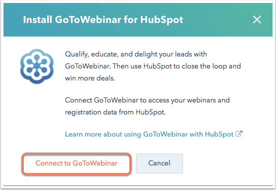 Authorize HubSpot api