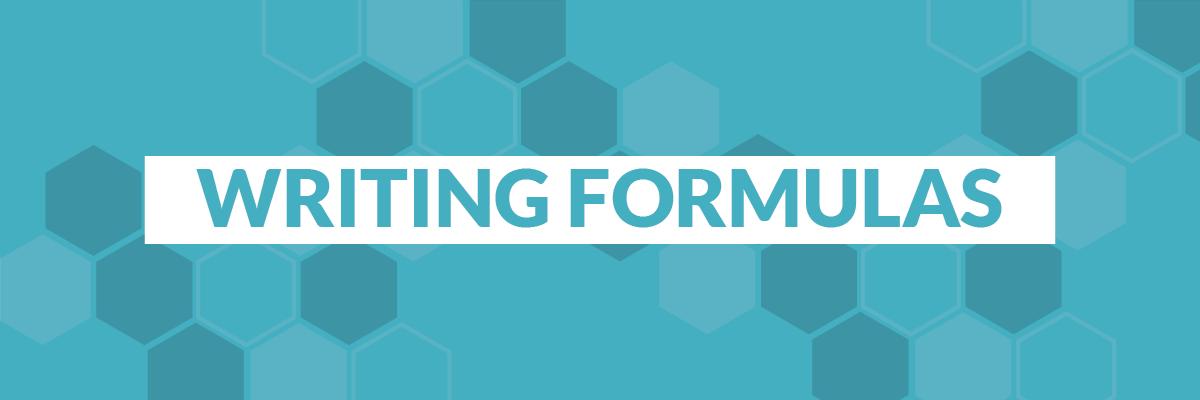 writing-formulas